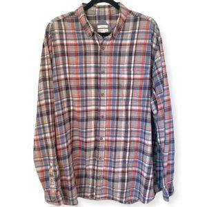 Merona Classic Fit Men's Flannel Button Up Shirt